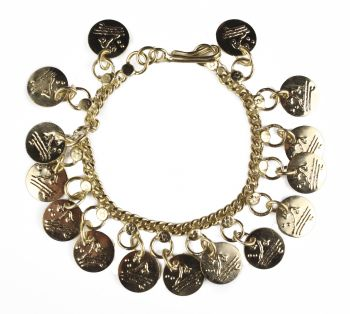 Classic Belly Dancer Coin Bracelet