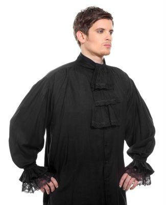 Authentic Medieval and Pirate Ruffle Shirt available in 4 colors