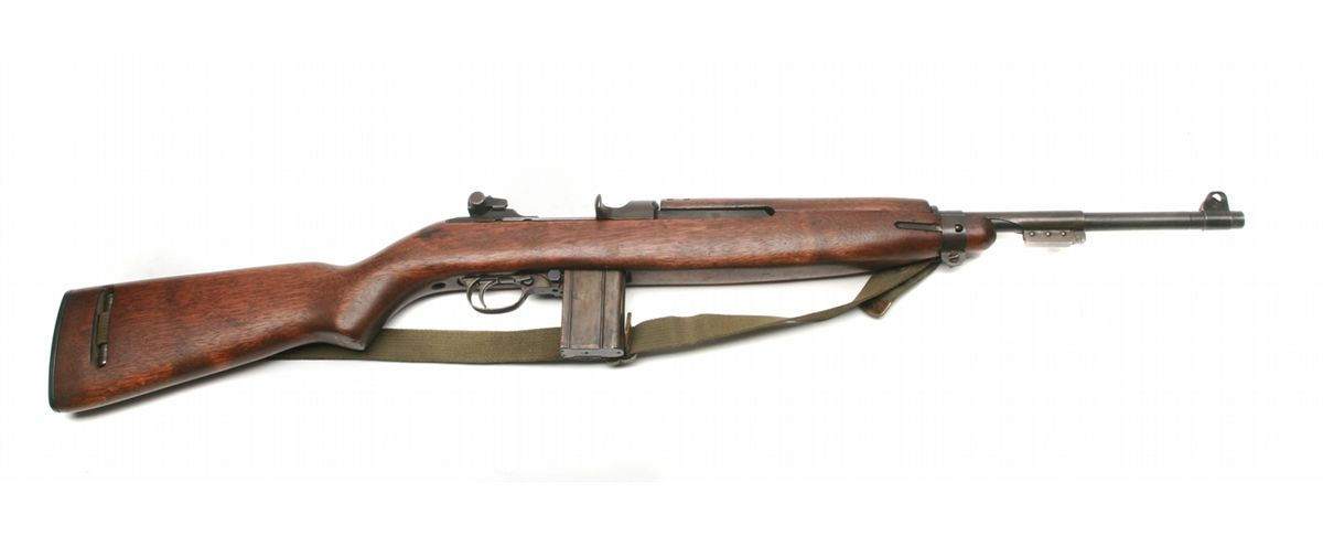 M1 Carbine with belt