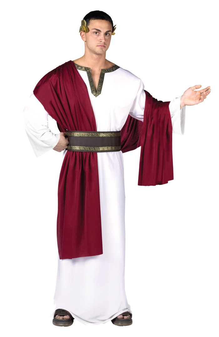 Adult Great Caesar One Size Costume