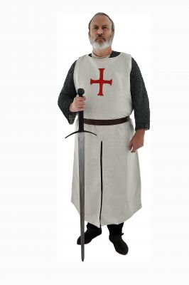 Templar Surcoat Cotton (White) by GDFB