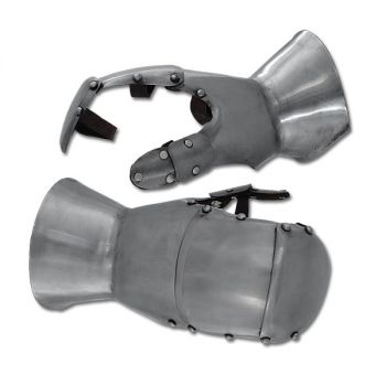 Milanese Styled Gauntlets