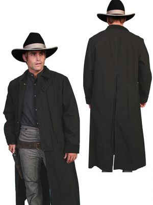 Men's Classic Cowboy Canvas Duster