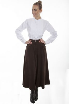 Western Split Skirt for Ladies