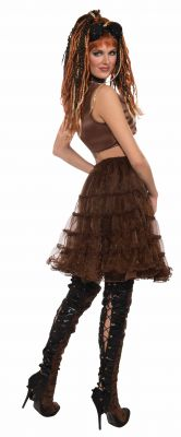 Adorable Steampunk Brown Crinoline Underskirt