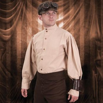 Steampunk Engineer Shirt for Men