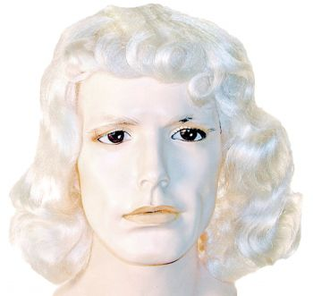 White Quaker Costume Wig