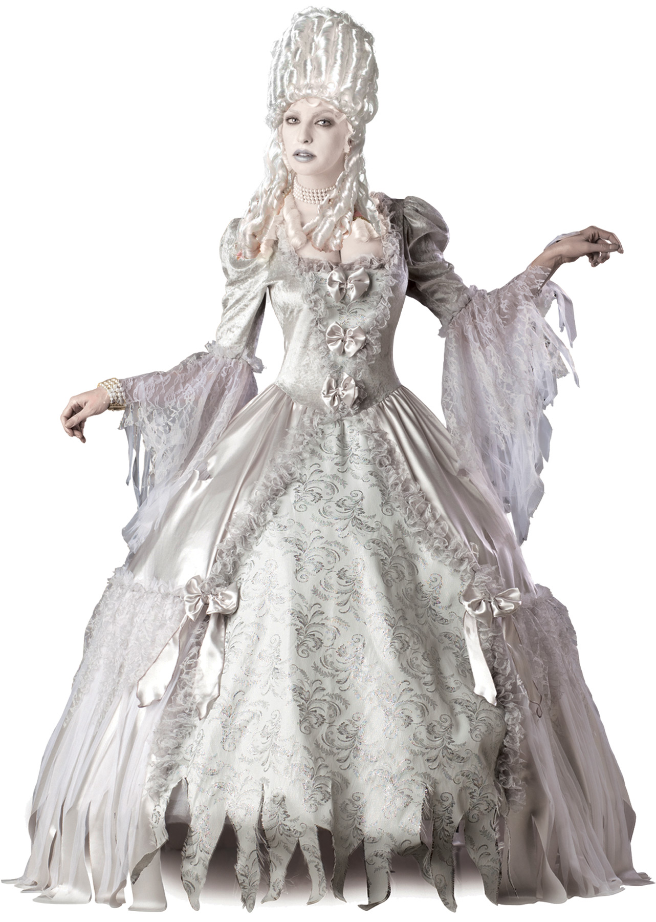 Fantastic 17th Century Countess Ghost Costume