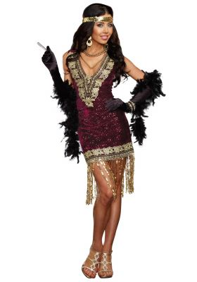 Swanky Sophisticated Flapper Costume