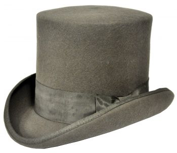 TALL HAT GREY
