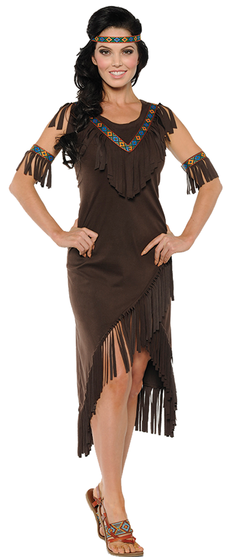 Attractive Native American Women's Costume