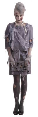ZOMBIE BUSINESS WOMAN COSTUME