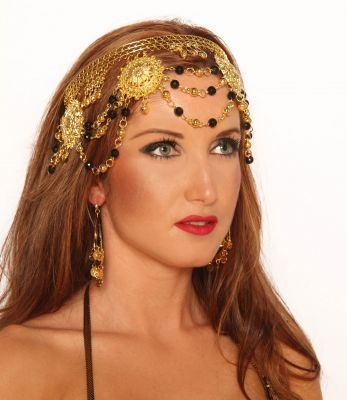 GYPSY HEADBAND in Gold or Silver