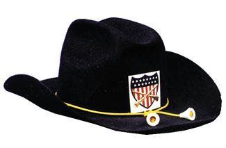 CIVIL WAR UNION OFFICERS HAT (Hat Sizes (SM-XL): Hat Size Small)