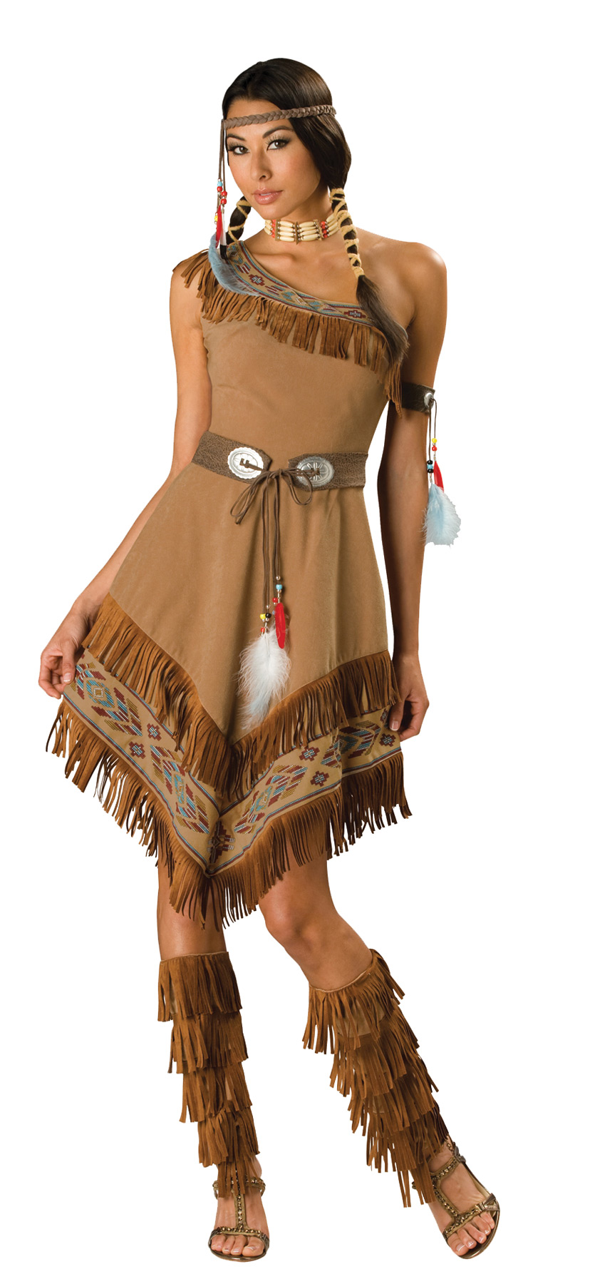 INDIAN MAIDEN (Sizes (S-M-L): Size: Small)