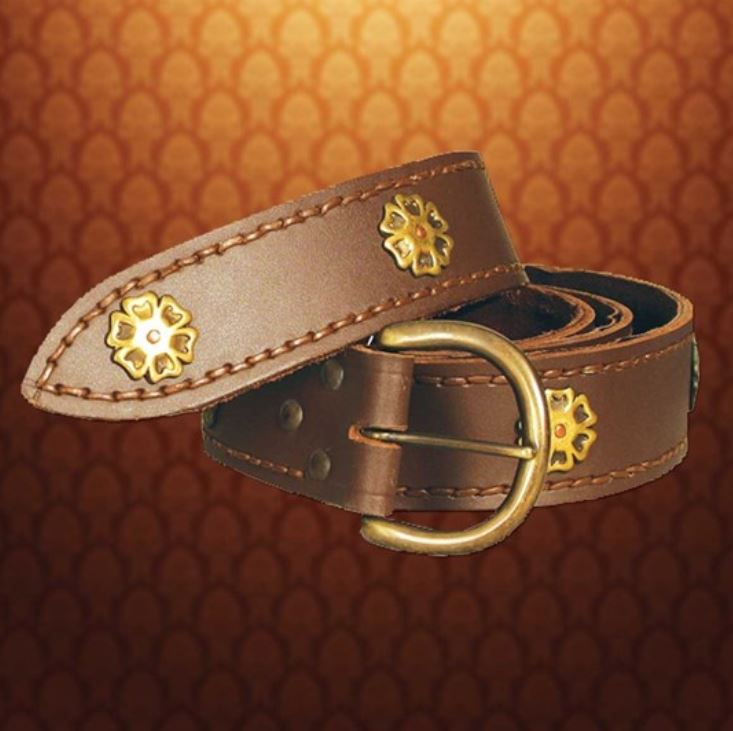 Knightly Belt (Color: (Bk-Br): Brown)