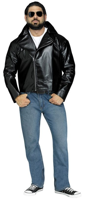 Men's Costume 1950's Costume Rock-n-Roll Jacket (Size: (AS-Plus): Adults Standard - up to 6 ft. and 200 lbs)
