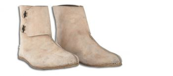 11th Century Norman Cavalry Men's Shoes (Sizes: (9.5 - 11.5): Size: 9-1/2)