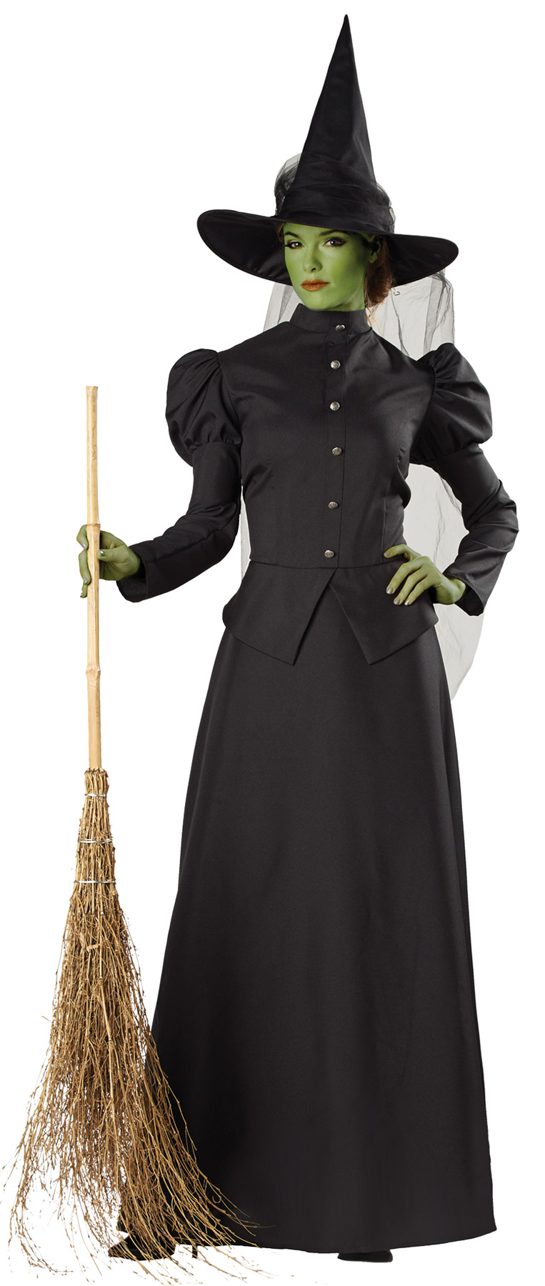 Women's Classic Wicked Witch Costume (Size: (SM-XL): Size: Small)